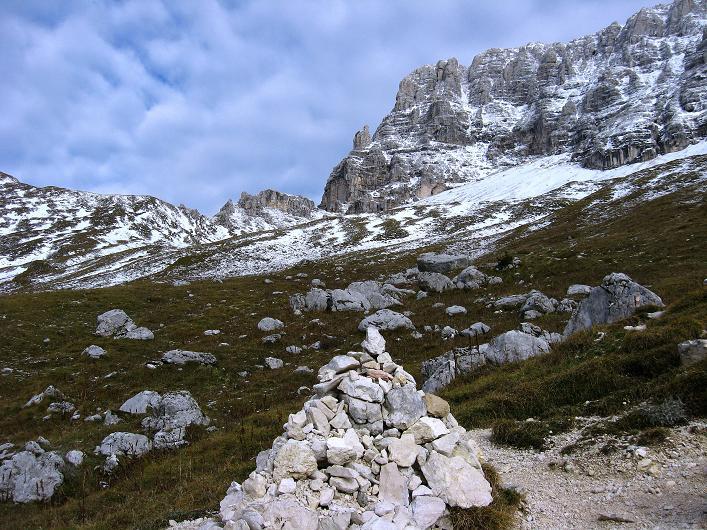 Foto: Andreas Koller / Klettersteig Tour / Leiternweg durch die Südwand auf den Montasch (2753m) / 27.10.2009 22:21:39