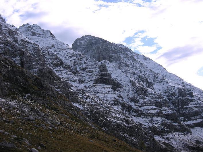 Foto: Andreas Koller / Klettersteig Tour / Leiternweg durch die Südwand auf den Montasch (2753m) / 27.10.2009 22:21:30