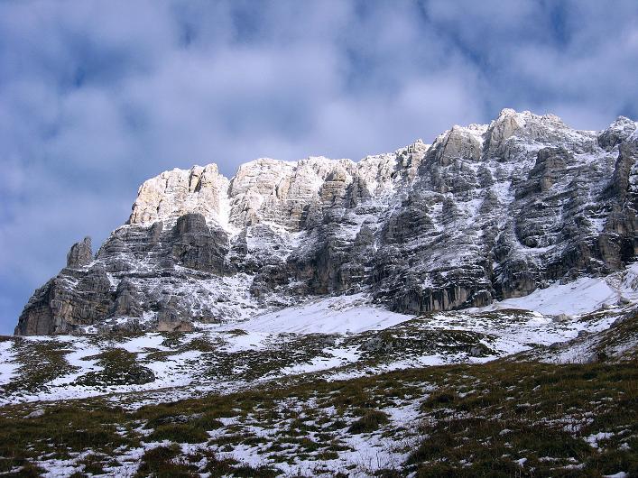 Foto: Andreas Koller / Klettersteig Tour / Leiternweg durch die Südwand auf den Montasch (2753m) / 27.10.2009 22:21:21
