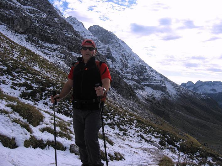 Foto: Andreas Koller / Klettersteig Tour / Leiternweg durch die Südwand auf den Montasch (2753m) / 27.10.2009 22:21:03