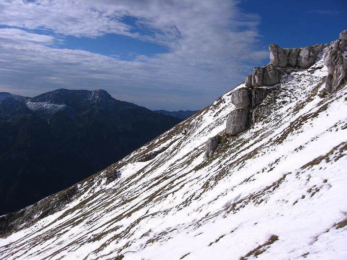 Foto: Andreas Koller / Klettersteig Tour / Leiternweg durch die Südwand auf den Montasch (2753m) / 27.10.2009 22:19:36