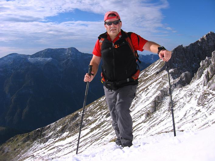 Foto: Andreas Koller / Klettersteig Tour / Leiternweg durch die Südwand auf den Montasch (2753m) / 27.10.2009 22:19:07