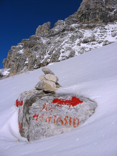 Foto: Andreas Koller / Klettersteig Tour / Leiternweg durch die Südwand auf den Montasch (2753m) / 27.10.2009 22:18:45