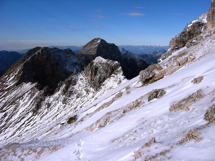 Foto: Andreas Koller / Klettersteig Tour / Leiternweg durch die Südwand auf den Montasch (2753m) / 27.10.2009 22:17:02
