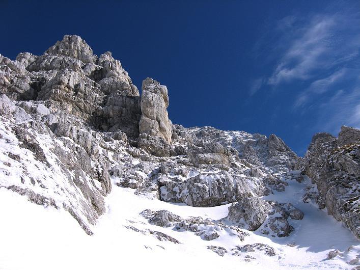 Foto: Andreas Koller / Klettersteig Tour / Leiternweg durch die Südwand auf den Montasch (2753m) / 27.10.2009 22:15:52