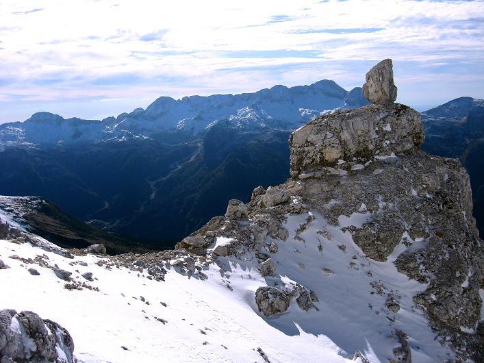 Foto: Andreas Koller / Klettersteig Tour / Leiternweg durch die Südwand auf den Montasch (2753m) / 27.10.2009 22:15:25