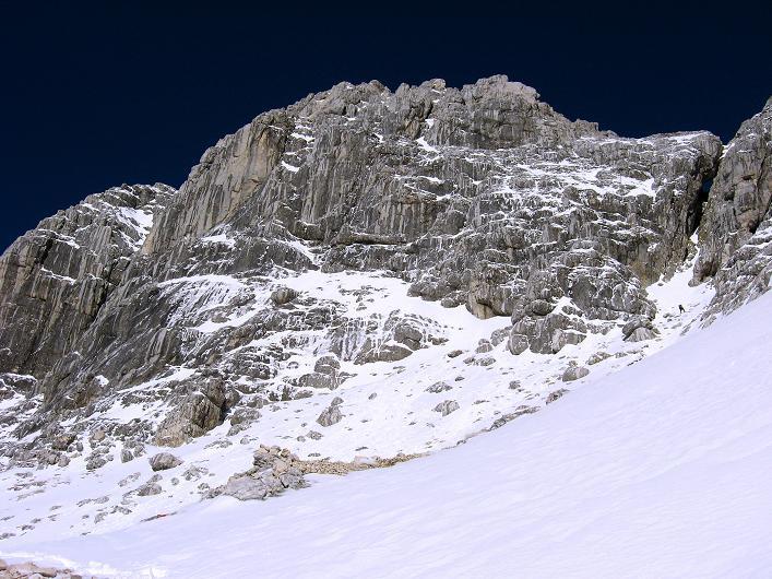 Foto: Andreas Koller / Klettersteig Tour / Leiternweg durch die Südwand auf den Montasch (2753m) / 27.10.2009 22:15:14