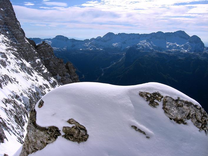 Foto: Andreas Koller / Klettersteig Tour / Leiternweg durch die Südwand auf den Montasch (2753m) / 27.10.2009 22:14:22