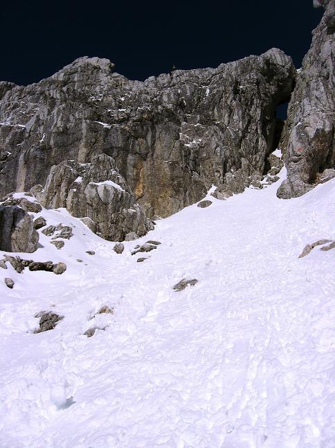 Foto: Andreas Koller / Klettersteig Tour / Leiternweg durch die Südwand auf den Montasch (2753m) / 27.10.2009 22:14:12