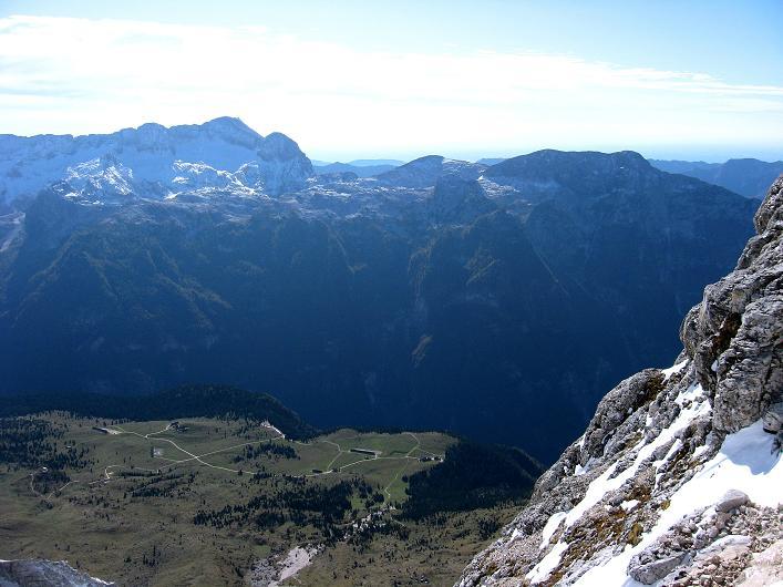 Foto: Andreas Koller / Klettersteig Tour / Leiternweg durch die Südwand auf den Montasch (2753m) / 27.10.2009 22:10:50
