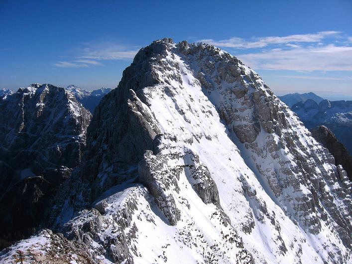 Foto: Andreas Koller / Klettersteig Tour / Leiternweg durch die Südwand auf den Montasch (2753m) / 27.10.2009 22:10:42