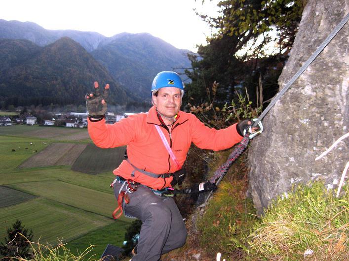 Foto: Andreas Koller / Klettersteig Tour / Koflwand Klettersteig (680 m) / 26.10.2009 16:11:51