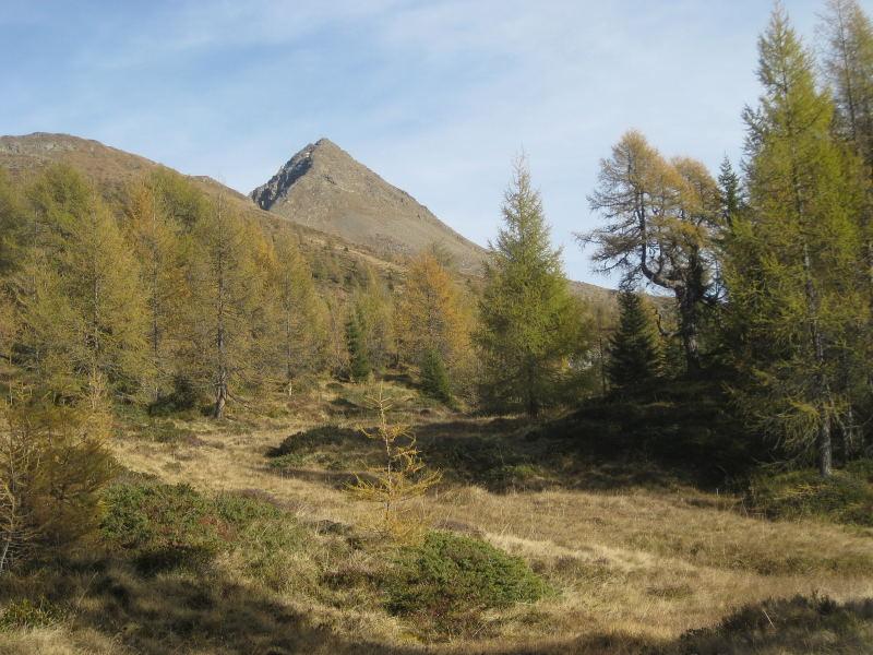 Foto: Wolfgang Lauschensky / Wander Tour / Col Quaterna oder Knieberg 2503m / Col Quaterna von Südwest / 30.10.2009 18:55:03