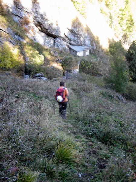 Foto: Wolfgang Lauschensky / Wander Tour / Monte Pelf 2502m / Bivaccio Medassa / 31.10.2009 14:14:50