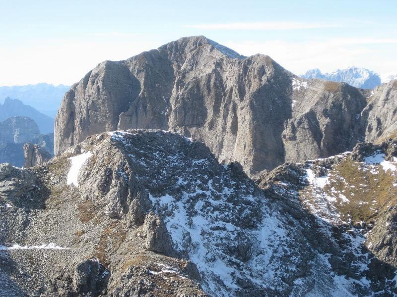 Foto: Wolfgang Lauschensky / Wander Tour / Monte Pelf 2502m / Schiara-Südostflanke / 31.10.2009 14:15:38