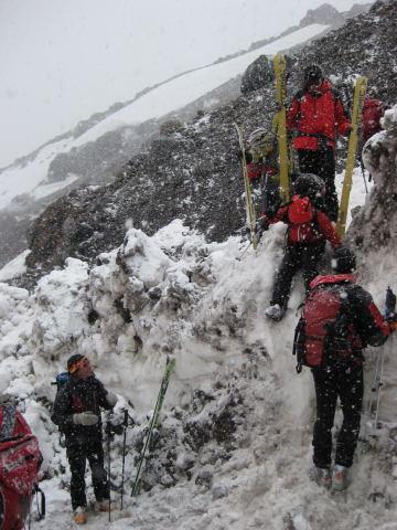 Foto: Wolfgang Lauschensky / Ski Tour / Elbrus 5642m  Winterbesteigung / Akklimatisation pur / 01.11.2009 14:37:33
