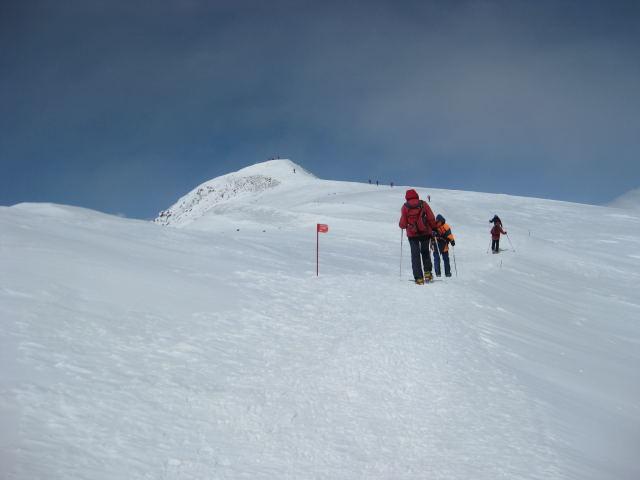 Foto: Wolfgang Lauschensky / Ski Tour / Elbrus 5642m  Winterbesteigung / das westliche Gipfeldach / 01.11.2009 14:33:01