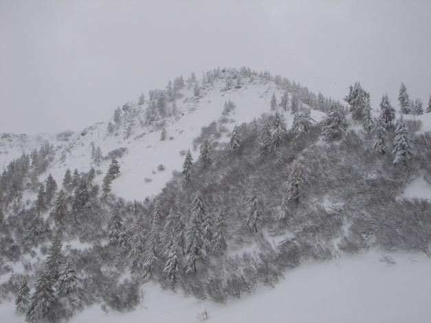 Foto: Manfred Karl / Ski Tour / Von Zauchensee auf den Roßkopf / Hirschköpfl / 03.11.2009 20:03:13