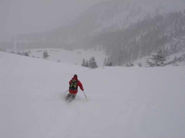 Foto: Manfred Karl / Ski Tour / Von Zauchensee auf den Roßkopf / Gipfelhang / 03.11.2009 20:02:25