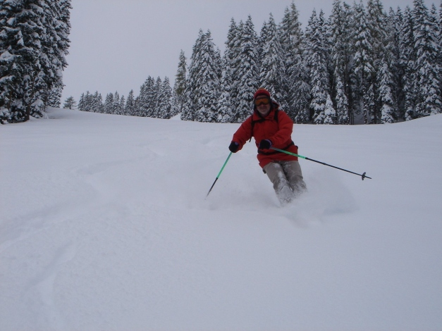 Foto: Manfred Karl / Ski Tour / Von Zauchensee auf den Roßkopf / Variante im oberen Teil / 03.11.2009 20:02:03