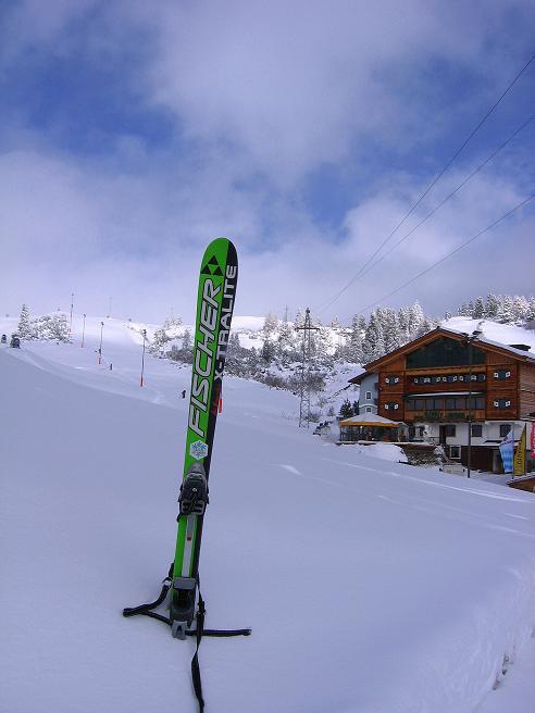 Foto: Andreas Koller / Ski Tour / Durchs Plattenkar auf die Plattenspitze (2294 m) / 08.11.2009 20:14:03