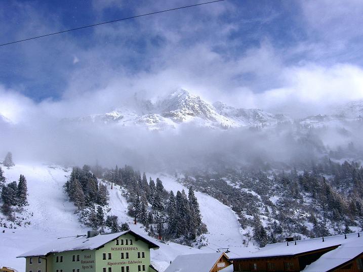 Foto: Andreas Koller / Ski Tour / Durchs Plattenkar auf die Plattenspitze (2294 m) / 08.11.2009 20:14:07