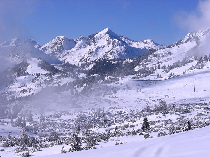 Foto: Andreas Koller / Ski Tour / Durchs Plattenkar auf die Plattenspitze (2294 m) / Hoch über dem Radstädter Tauern / 08.11.2009 20:12:37