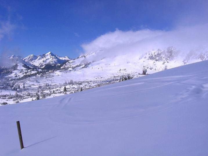 Foto: Andreas Koller / Ski Tour / Durchs Plattenkar auf die Plattenspitze (2294 m) / 08.11.2009 20:11:47
