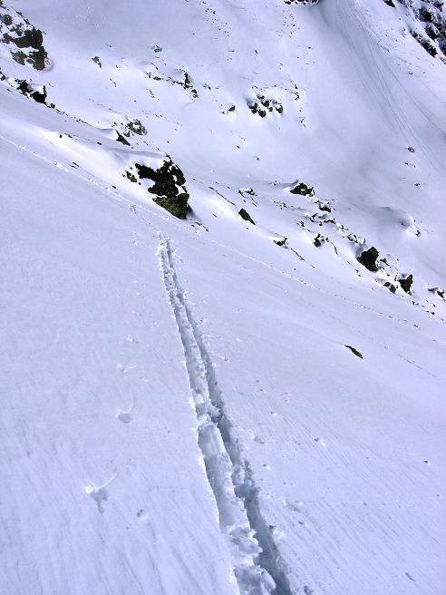 Foto: Andreas Koller / Ski Tour / Durchs Plattenkar auf die Plattenspitze (2294 m) / 08.11.2009 20:08:54