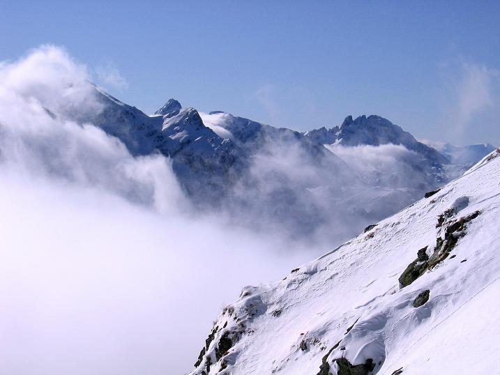 Foto: Andreas Koller / Ski Tour / Durchs Plattenkar auf die Plattenspitze (2294 m) / Mosermandl (2690m) und Faulkogel (2654m) / 08.11.2009 20:08:11