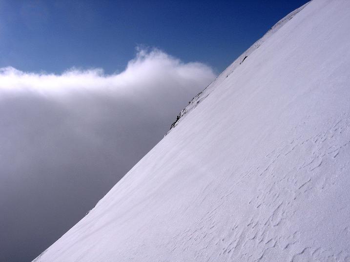 Foto: Andreas Koller / Ski Tour / Durchs Plattenkar auf die Plattenspitze (2294 m) / Steile Hänge im Plattenkar / 08.11.2009 20:07:37