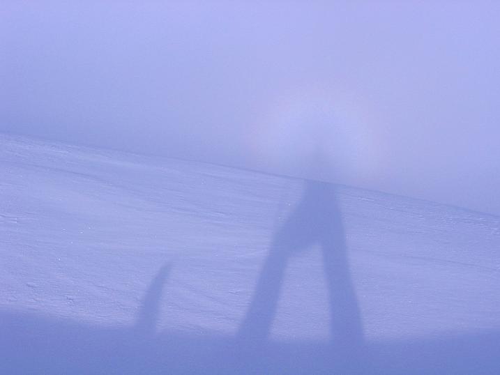 Foto: Andreas Koller / Ski Tour / Durchs Plattenkar auf die Plattenspitze (2294 m) / Ständiger Begleiter: Brockengespenst / 08.11.2009 20:05:01