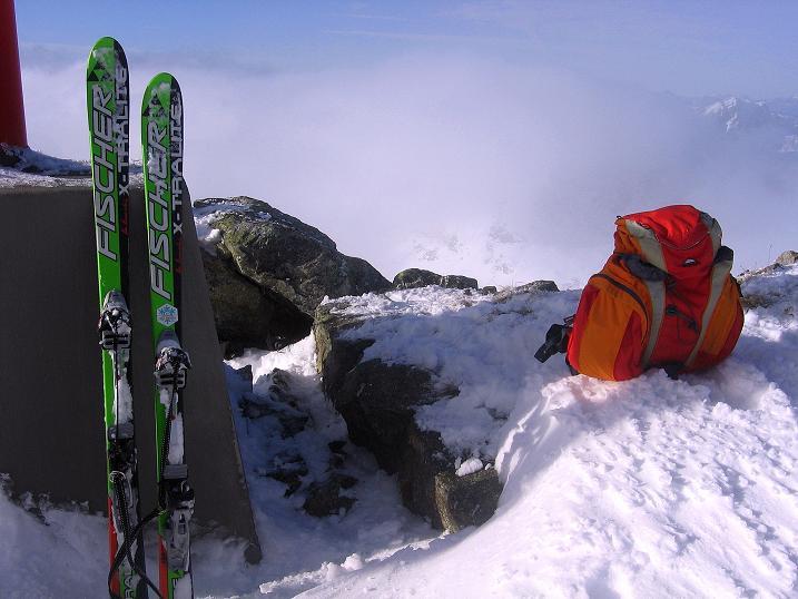Foto: Andreas Koller / Ski Tour / Durchs Plattenkar auf die Plattenspitze (2294 m) / 08.11.2009 19:59:15