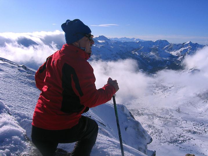 Foto: Andreas Koller / Ski Tour / Durchs Plattenkar auf die Plattenspitze (2294 m) / 08.11.2009 19:58:26