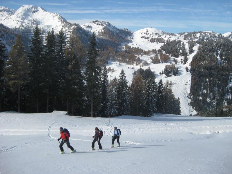 Foto: Wolfgang Lauschensky / Ski Tour / Hakopf über Schlaningsattel / das beliebtere westliche Pistengebiet von Zauchensee / 08.11.2009 20:52:52