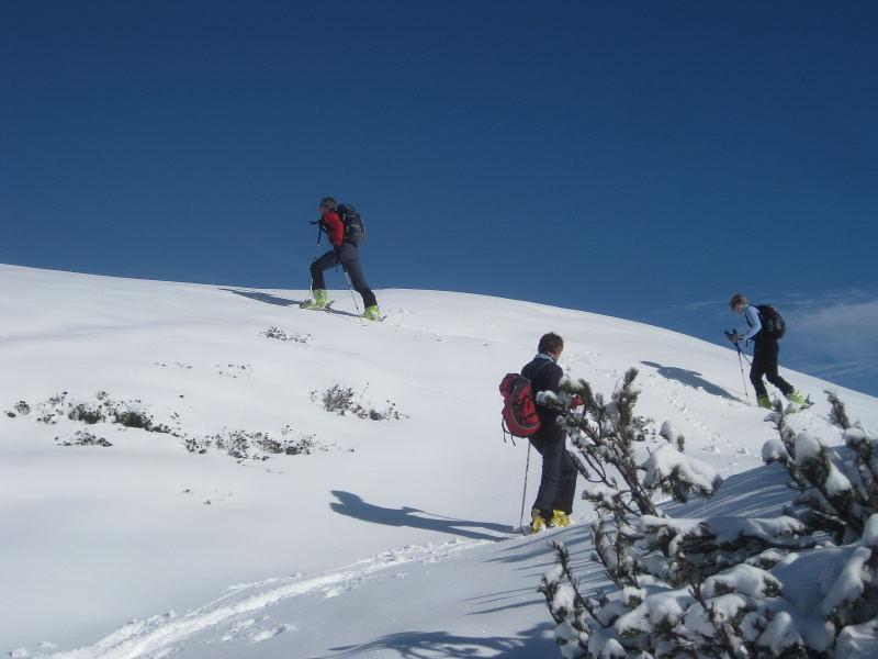 Foto: Wolfgang Lauschensky / Ski Tour / Hakopf über Schlaningsattel / Wandergenuß / 08.11.2009 20:51:57