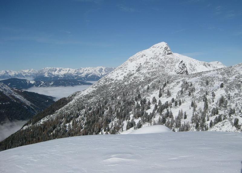 Foto: Wolfgang Lauschensky / Ski Tour / Hakopf über Schlaningsattel / Hochwintertourenziel Strimskogel / 08.11.2009 20:51:48