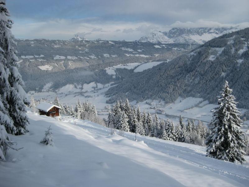 Foto: Wolfgang Lauschensky / Ski Tour / Vorderes Labeneck  / Radstadt unter der Walchhofalm / 10.11.2009 01:39:07