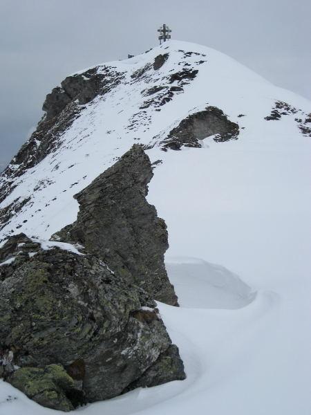 Foto: Wolfgang Lauschensky / Skitour / Kleiner Gilfert von Hochfügen / letzter Steilaufschwung / 10.11.2009 15:20:17