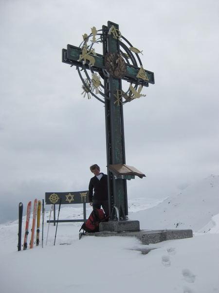 Foto: Wolfgang Lauschensky / Ski Tour / Kleiner Gilfert von Hochfügen / Gipfelsymbole / 10.11.2009 15:20:01