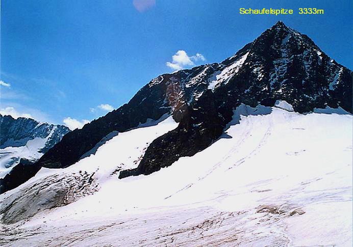 Foto: Andreas Koller / Wander Tour / Vom Eisgrat auf die Schaufelspitze (3333 m) / 11.11.2009 21:42:40