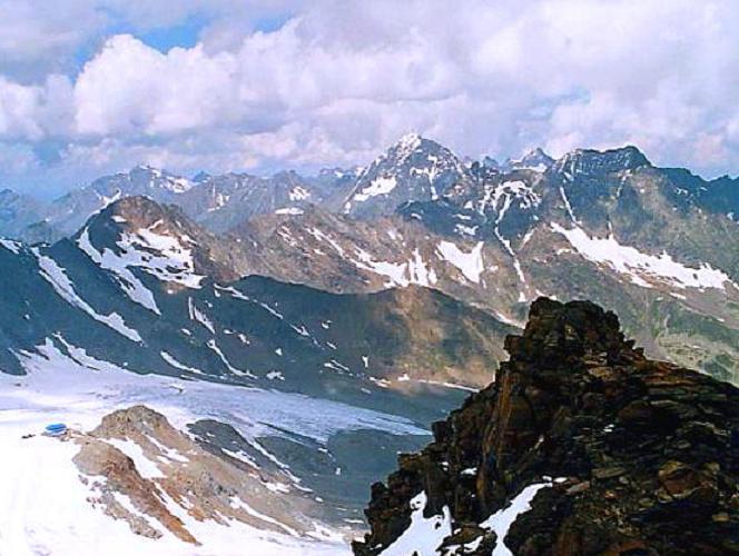 Foto: Andreas Koller / Wander Tour / Vom Eisgrat auf die Schaufelspitze (3333 m) / 11.11.2009 21:42:28