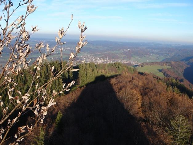 Foto: Manfred Karl / Kletter Tour / Engelstein / Blickrichtung Bergen / 15.11.2009 19:48:04