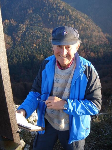 Foto: Manfred Karl / Kletter Tour / Engelstein / Der Hausherr vom Engelstein war über 600 mal am Gipfel!!! / 15.11.2009 19:45:16