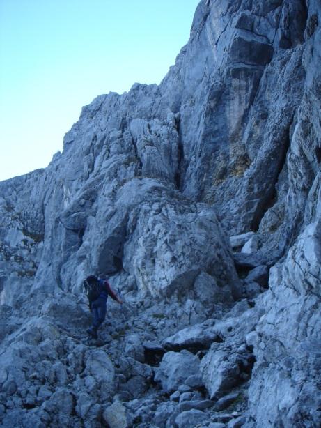Foto: Manfred Karl / Kletter Tour / Kraxngrat / Kurz vor dem Einstieg / 17.11.2009 20:09:36
