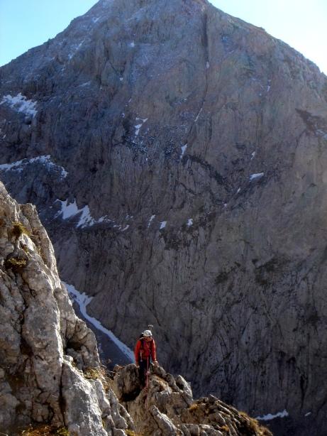 Foto: Manfred Karl / Kletter Tour / Kraxngrat / Im Hintergrund der Treffauer / 17.11.2009 20:08:19