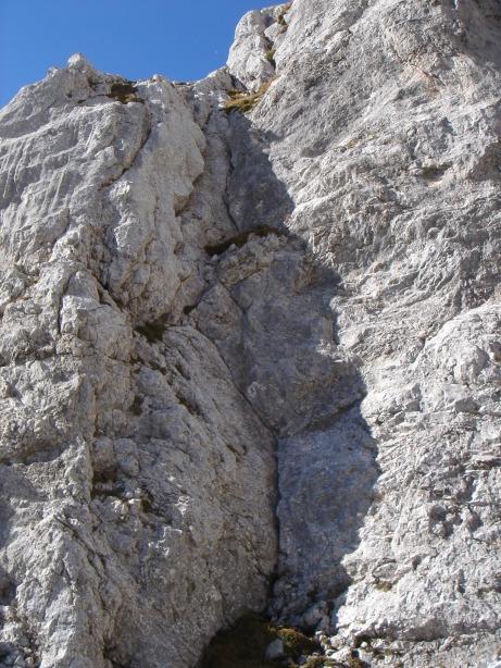Foto: Manfred Karl / Kletter Tour / Kraxngrat / Die Verschneidung der 10. SL / 17.11.2009 20:06:35