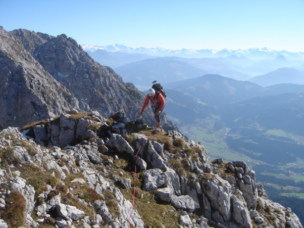 Foto: Manfred Karl / Kletter Tour / Kraxngrat / Ausstieg / 17.11.2009 20:03:55