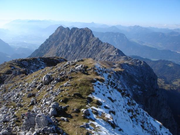 Foto: Manfred Karl / Kletter Tour / Kraxngrat / Lohnende Gratüberschreitung: Hackenköpfe - Scheffauer (bis 2) / 17.11.2009 20:02:16