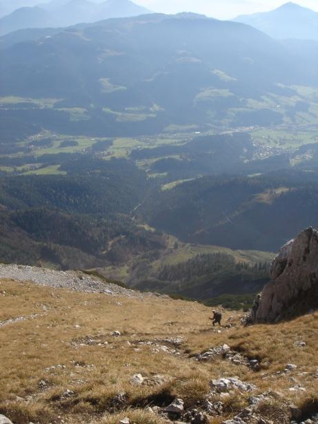 Foto: Manfred Karl / Kletter Tour / Kraxngrat / 17.11.2009 20:00:32